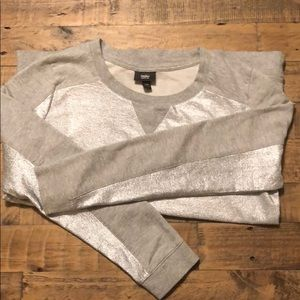 Silver Mossimo Sweater Size Large